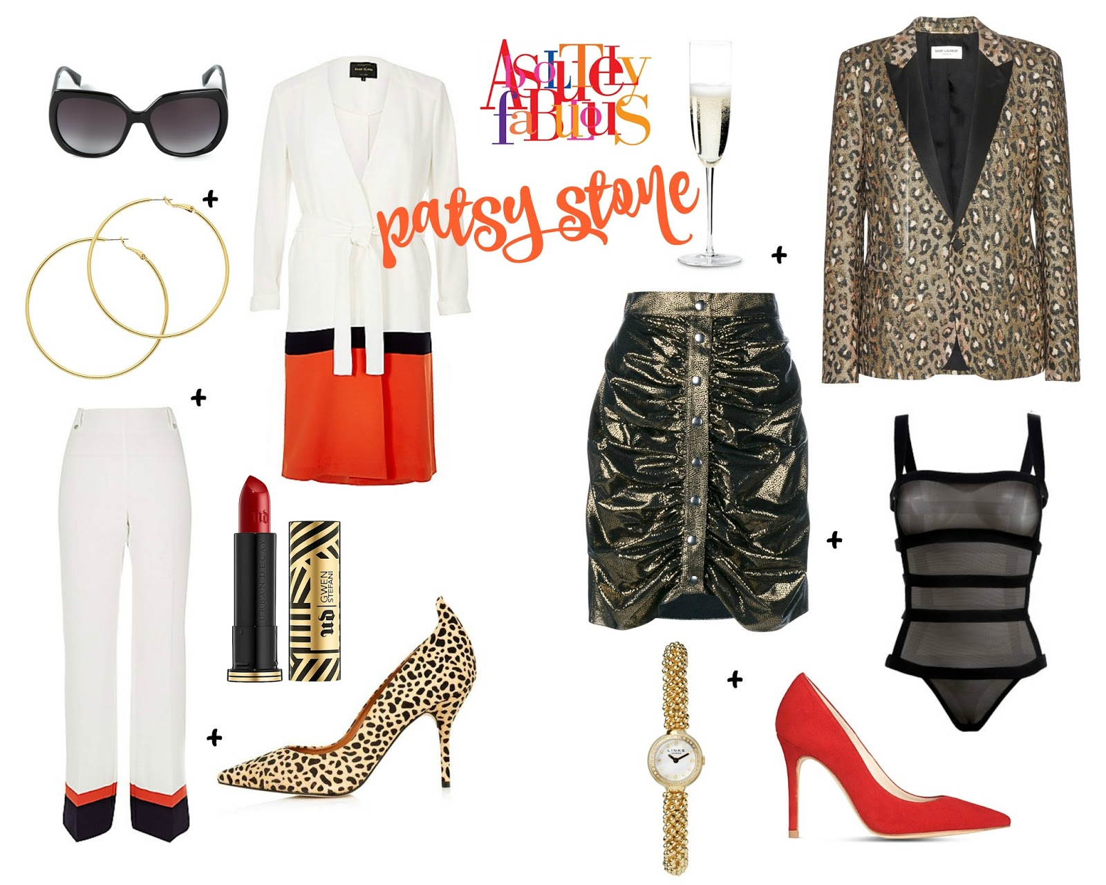 mamasVIB   V. I. BUYS: Sweetie, Darling…this is how to look Absolutely Fabulous TODAY!, Absolutely Fabulous movie, Ab Fab, fashion from ab fab