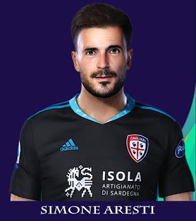 PES 2021 Faces Simone Aresti by Rachmad ABs