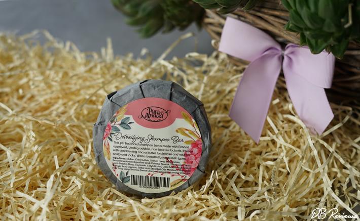 Pure Anada Detoxifying Shampoo Bar - Tea Tree & Sweet Orange