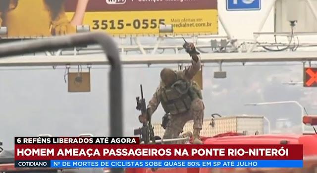 O governador do Rio deu o sinal para o tiro