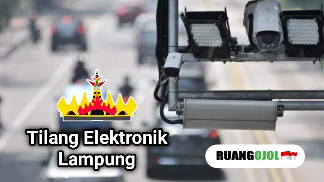 Satlantas Bandar Lampung Mulai Uji Coba Tilang Elektronik, Ini Titik Kameranya!
