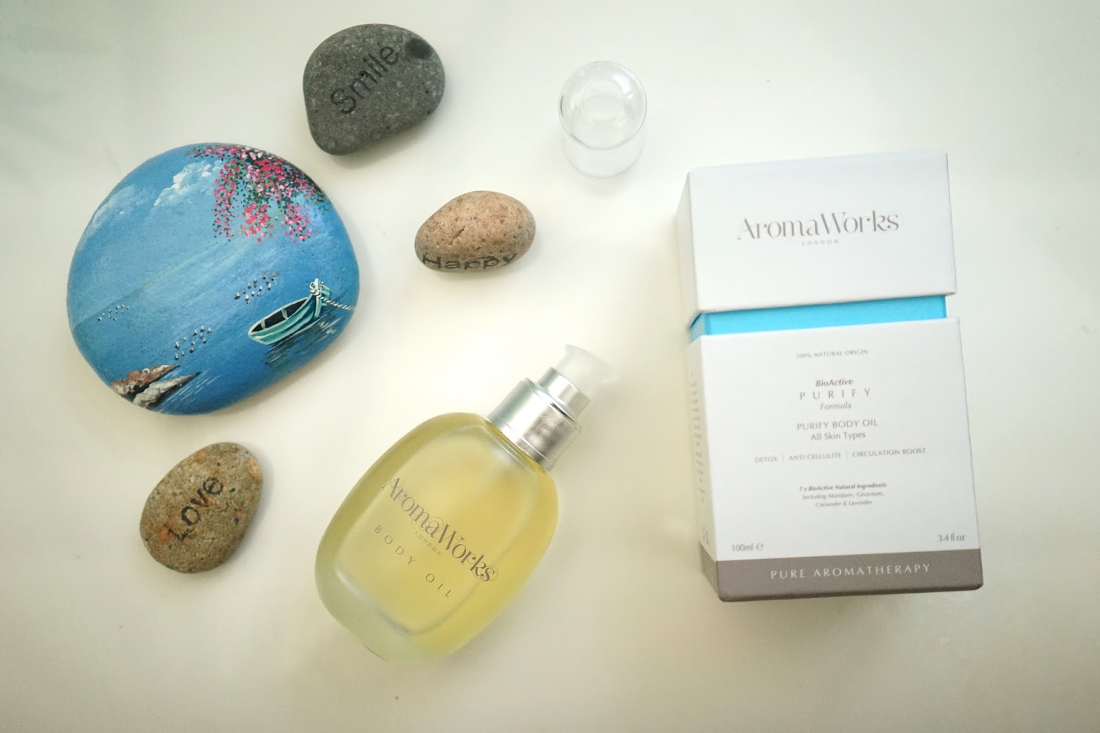 aromaworks purify body oil review