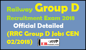 Railway Group D Recruitment Exam 2018