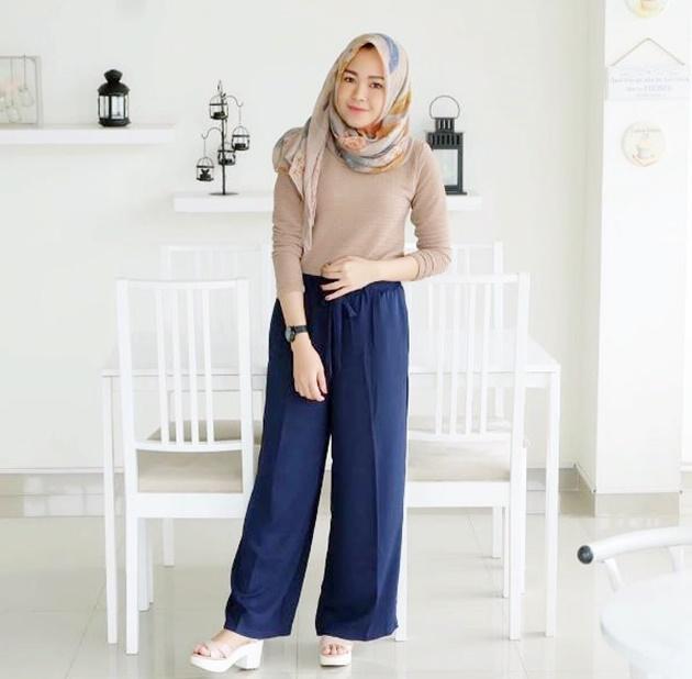 Inspirasi Padu Padan Celana Kulot Untuk Hijabers