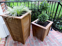 Project Lady Diy Tutorial - Decorative Wood Planter Boxes