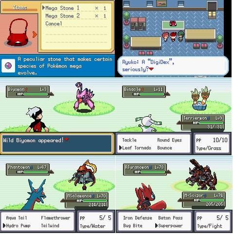Pokemon Dark Rising Origins: Worlds Collide Rom Screenshots