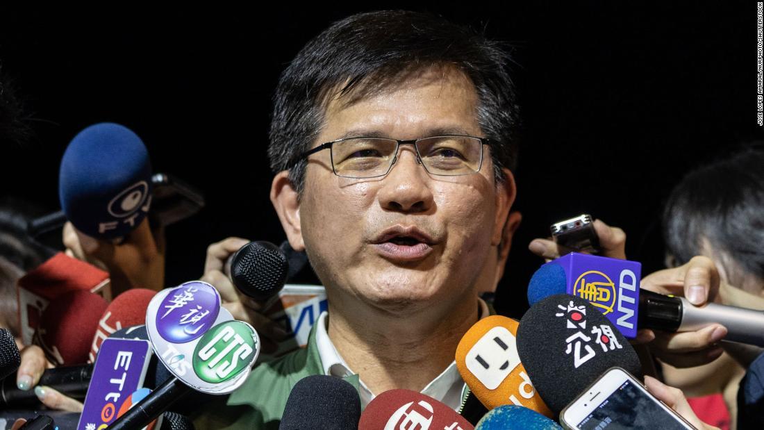 taiwan minister Lin Chia-lung
