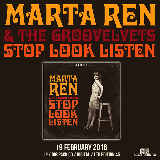 Stop Look Listen von MARTA REN and The GROOVELVETS | NuSoul aus Porto