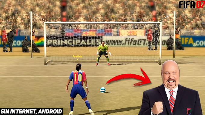 FIFA 07 OFICIAL PARA ANDROID SIN INTERNET + NARRACION EN ESPAÑOL DE ENRIQUE BERMUDEZ, CLUBES Y MODOS DE JUEGO ORIGINALES!