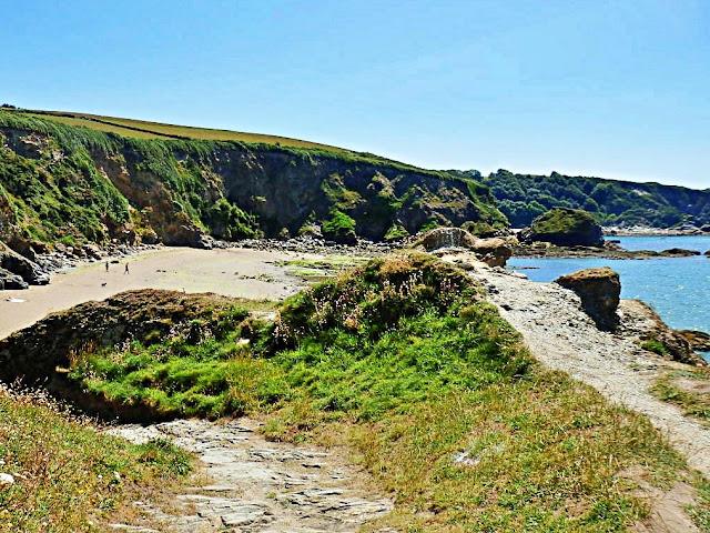 Path to Booley Beach, Cornwall