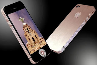 Hape Termahal iPhone 4 Diamond Rose Edition