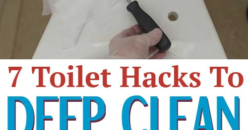 7 Toilet Hacks To Deep Clean Your Toilet Diy Home Sweet