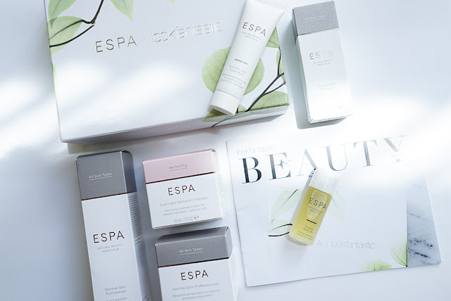 limited edition, beauty box, skincare, luxury skincare, ESPA, Spa treatments, gifts, Lookfantastic,