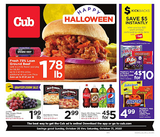 ⭐ Cub Foods Ad 10/25/20 ⭐ Cub Foods Weekly Ad October 25 2020