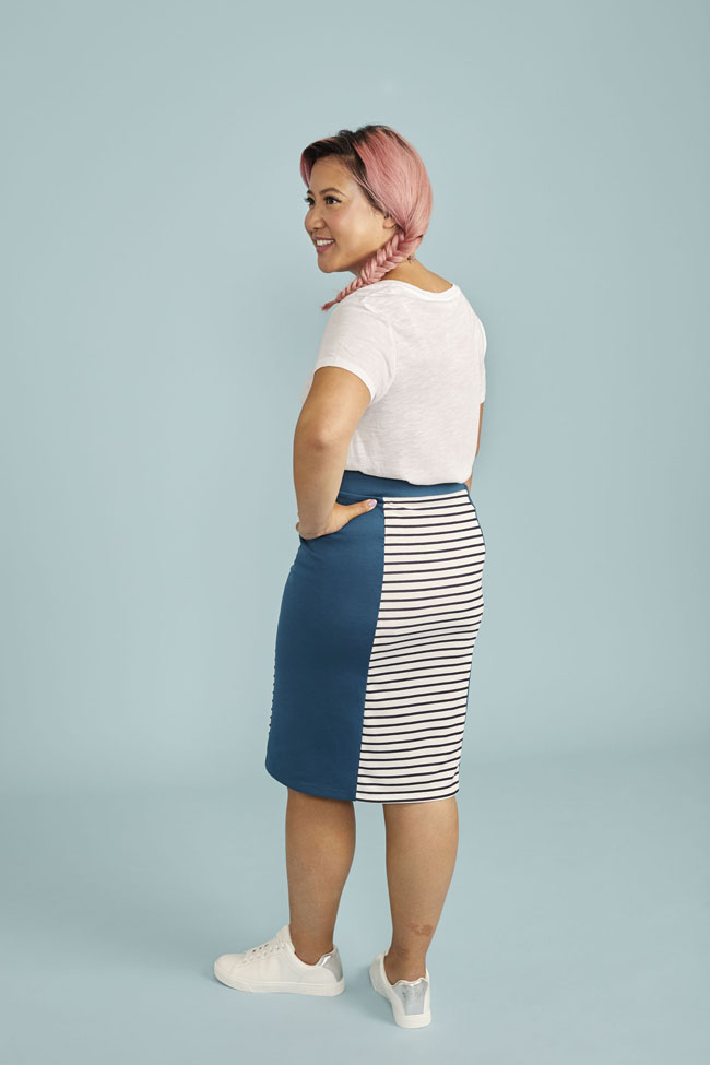 Bibi skirt - sewing pattern from Stretch! book - Tilly and the Buttons