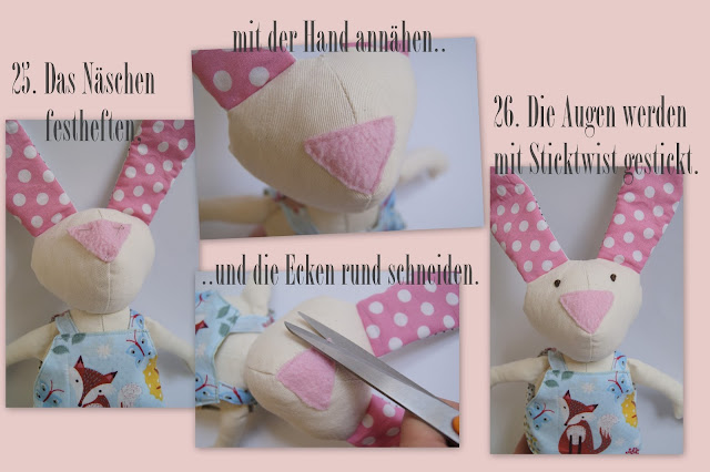easter bunny free tutorial ostern