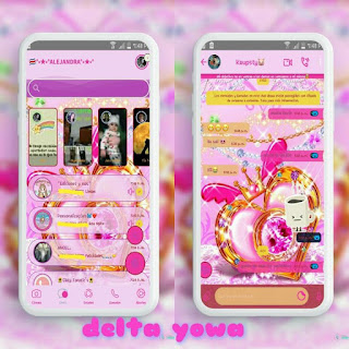 King Love Theme For YOWhatsApp & Delta WhatsApp By Ale