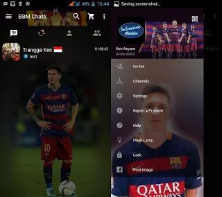 Download BBM Mod Messi