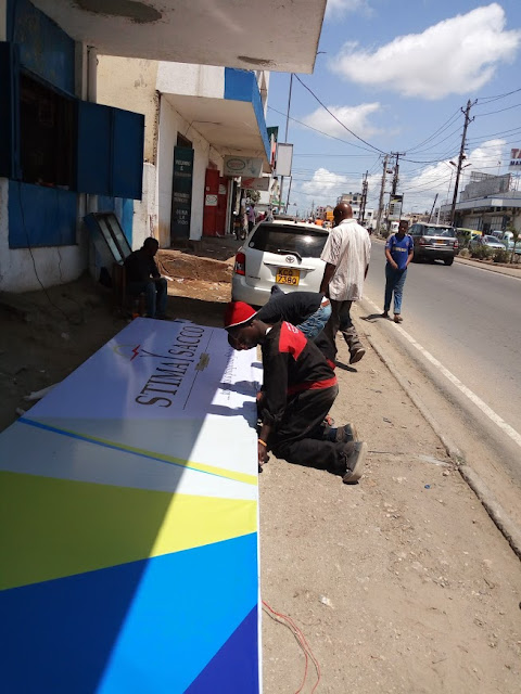 light box signage in kenya