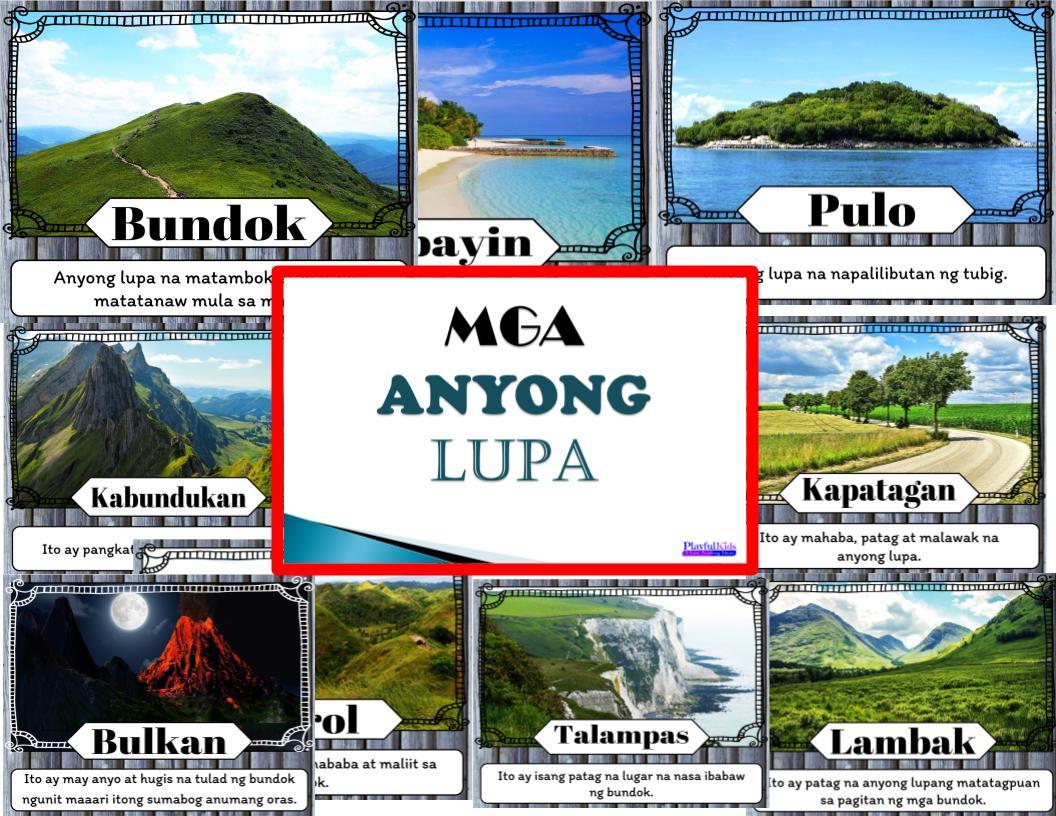 Mga Anyong Tubig Worksheets   Printable Worksheets and Activities for  Teachers [ 816 x 1056 Pixel ]