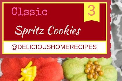 Classic Spritz Cookies #christmas #cookies