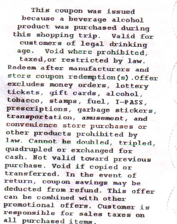 13 1 7 Coupon Rules