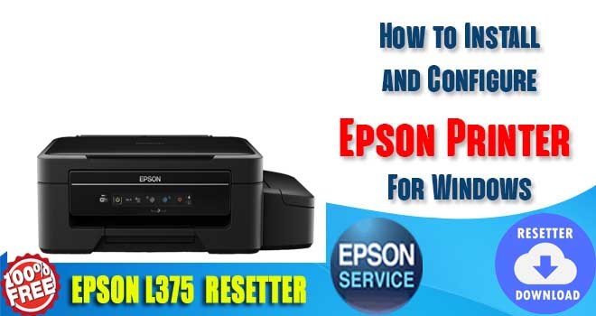 Epson L375 Adjustment Program