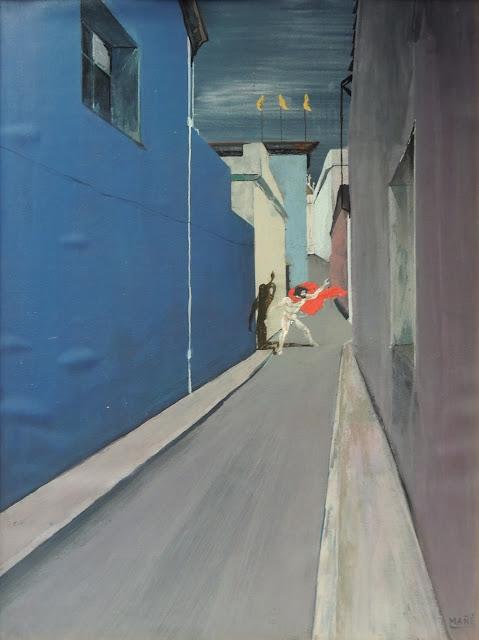 Pablo Mañé arte latinoamericano pintura surrealista heroe de la calle