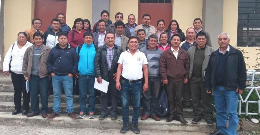 Comenzó Taller de Fortalecimiento para directores en la UGEL Santiago de Chuco
