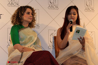 "Actress Kangana Ranaut Pos in Lehenga Choli at ""Between the Poet and her Pencil"" Book Launch  0011.jpg"