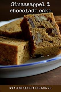 Homemade cake bakken zonder pakjes en zakjes. Cake met sinaasappel, chocolade en walnoten