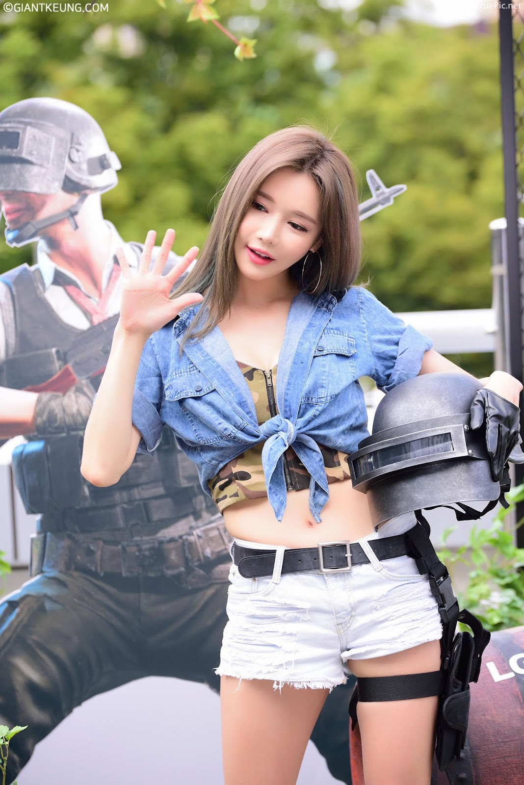 Korean Racing Model - Han Ga Eun - LG Ultragear Festival- Picture 5