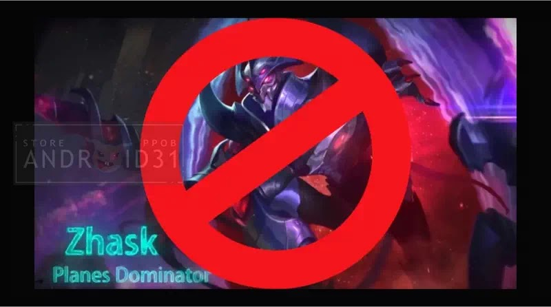Zhask Mobile Legends Banned