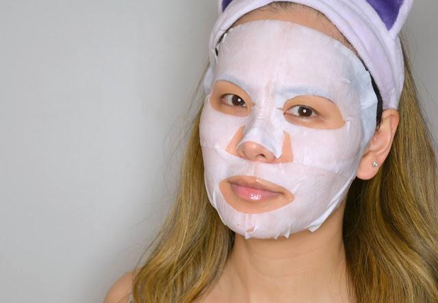 Glamglow Thirstysheet SOS Intensive Hydrating Cream Sheet Mask Selfie