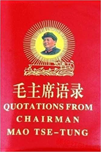 Quotations from Chairman Mao Tse-tung pdf