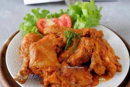 Resep Ayam bumbu rujak tanpa santan