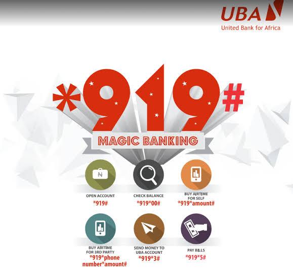 UBA Transfer Code - UBA magic banking
