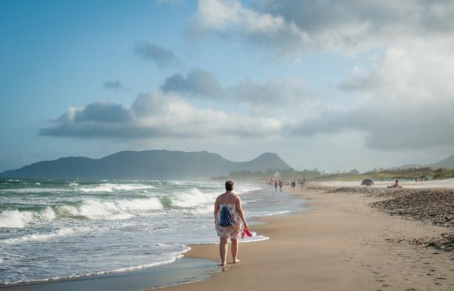 Praia do Campeche; Florianópolis, Santa Catarina, Brazilia