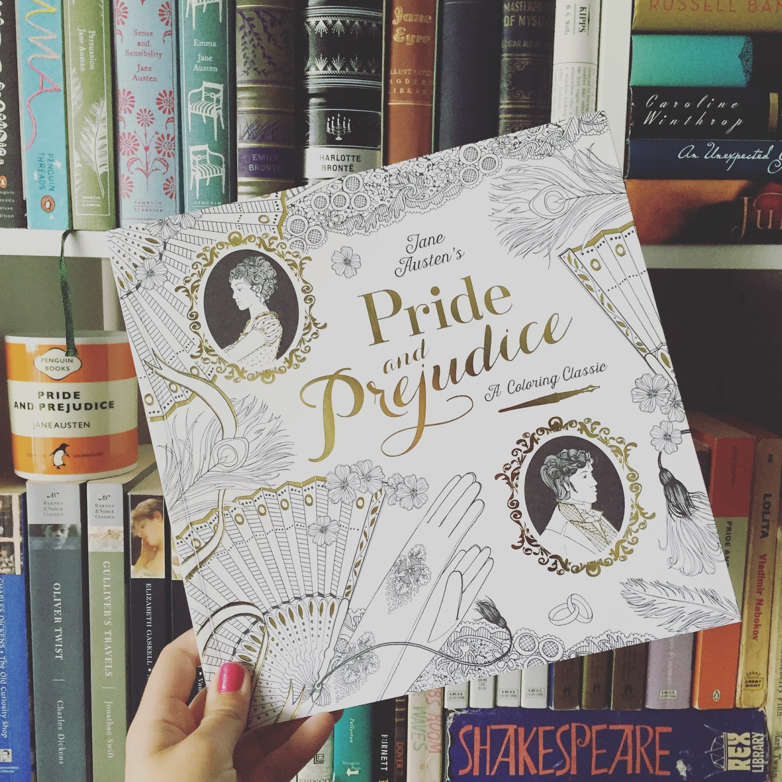 Of The Four Sent To Me Pride And Prejudice Coloring Book Is Definitely My Favorite Not Only It Because I Love Jane Austen Hello
