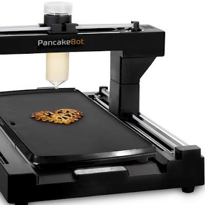 3D Pancake Printer For Your Kitchen