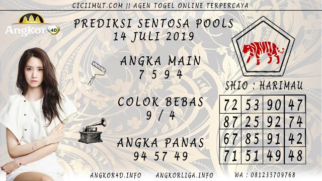 PREDIKSI SENTOSA POOLS 14 JULI 2019