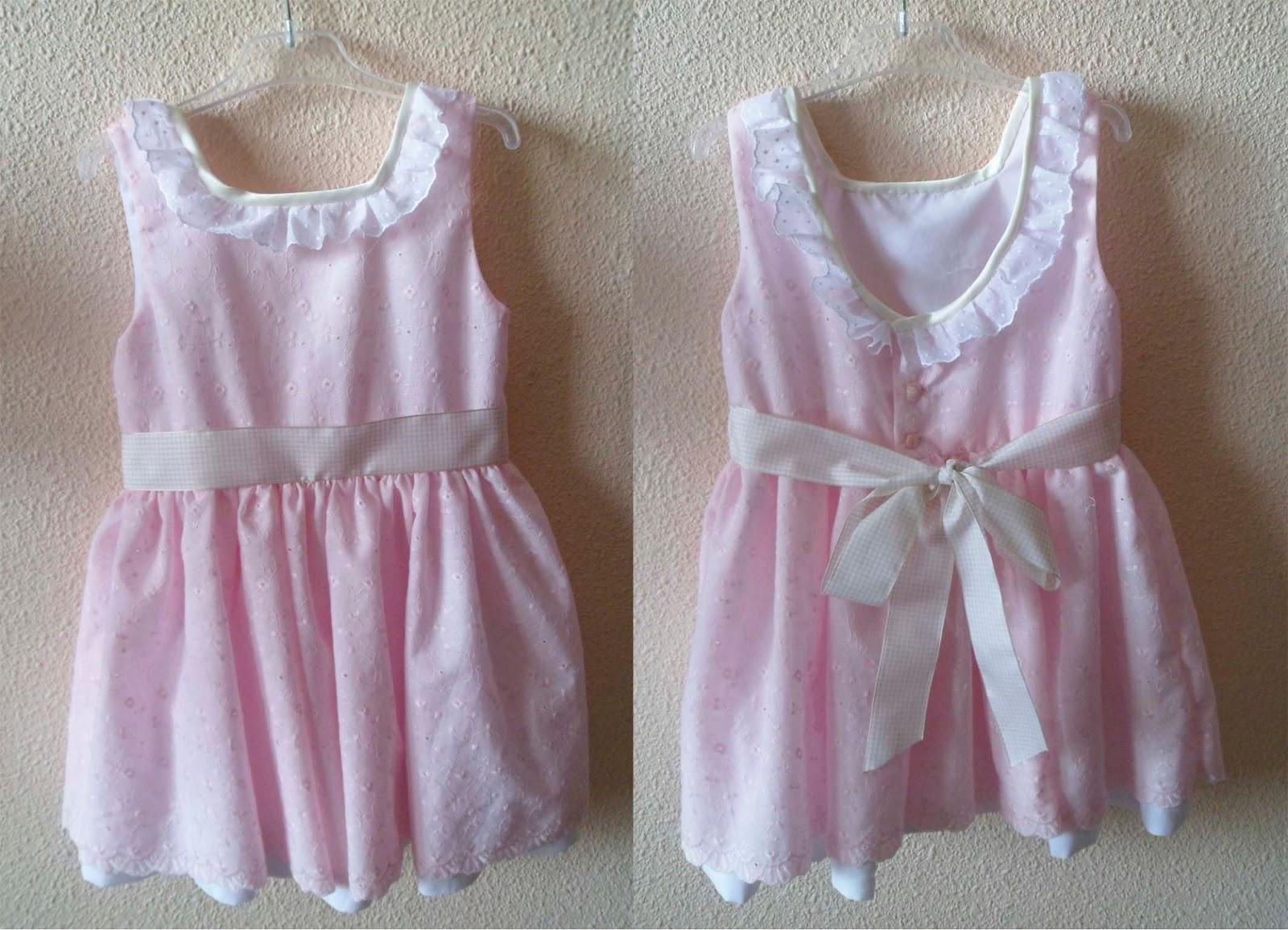 a032a93be El costurero de Mónica  Vestidos de niña hechos a mano