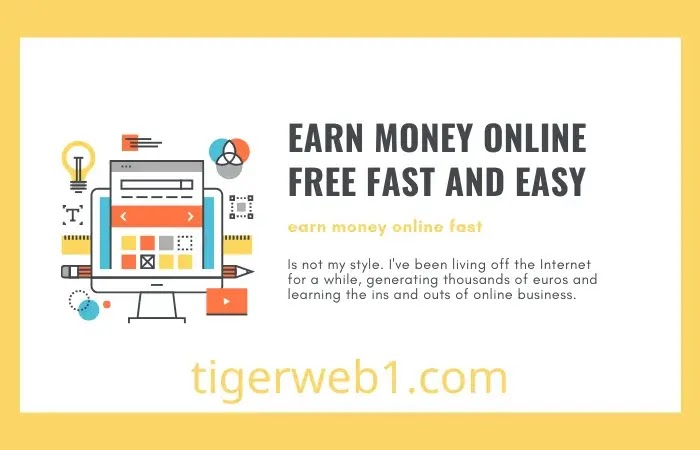 earn money online free fast and easy