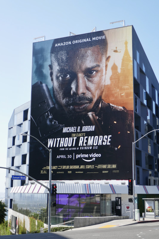 Giant Without Remorse film billboard