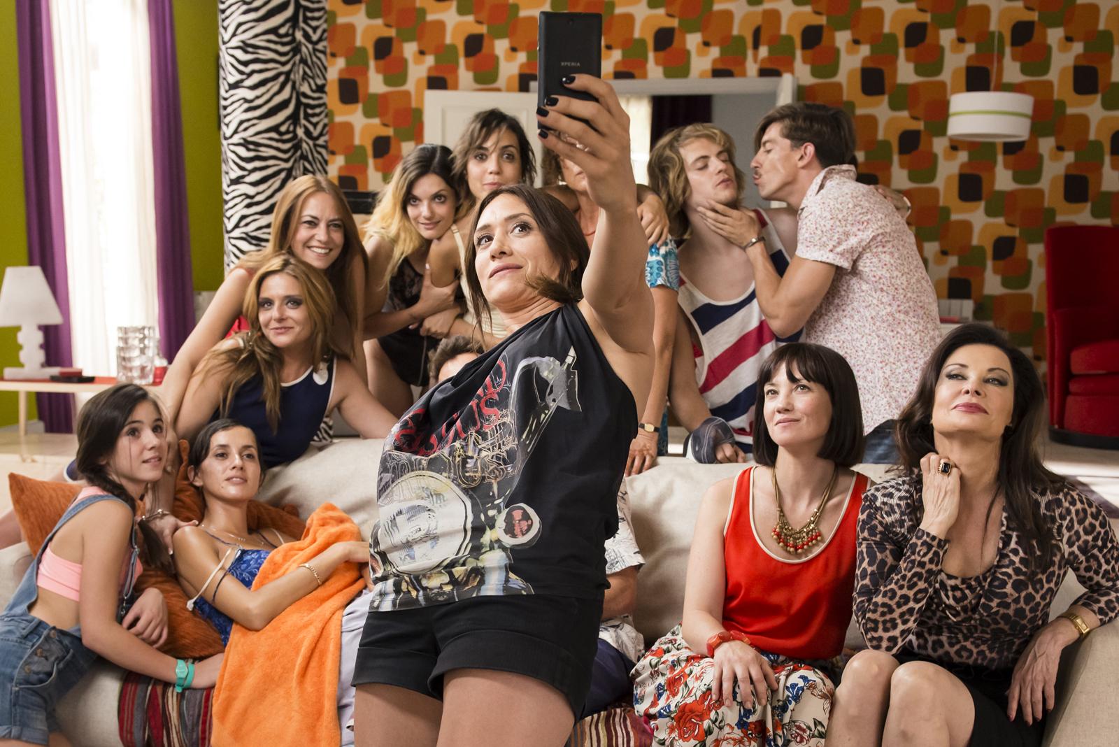 """Los asistente a la loca fiesta de la regla de """"De Chica en Chica"""""""