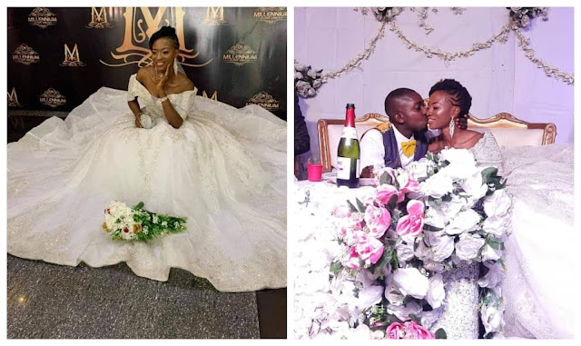 My tear rubber wife- Husband who married a virgin joins his wife to celebrate her virginity