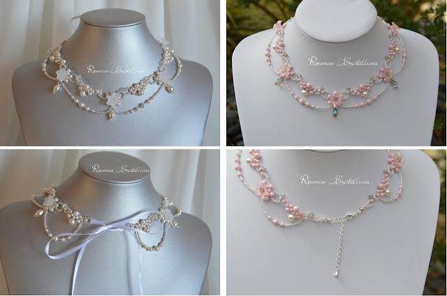 bijou mariée perles et cristaux