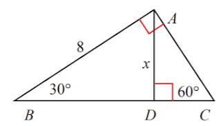 Tentukan keliling segitiga ABC di bawah ini www.jawabanbukupaket.com