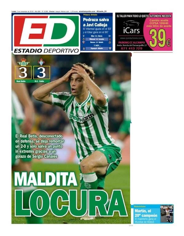 "Betis, Estadio Deportivo: ""Maldita locura"""