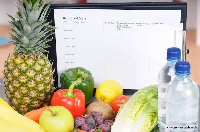 keep a food diary - newstrends